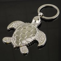 Wholesale turtle purses for sale - Group buy Creative Turtle Tortoise Keychains Car Keyring for Women Men Animal Turtle Key Chains Purse Pendant Novelty Gift