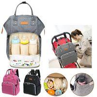 Wholesale Boy Diaper Bags - Multifunctional Baby Diaper Nappy Baby Care Bags Nursing Travel Backpacks