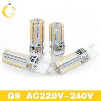 Wholesale Led Lights G9 Price - Lowest price G4 G9 LED Bulb SMD 2835 3014 AC220V led 3W 7W 9W 12W Lampada LED light corn bulb 360 degrees Replace G4 G9 Halogen