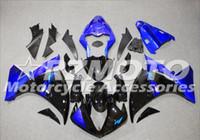 venda de carrinhos de motocicleta yamaha venda por atacado-3 brindes novos kits de carenagem da motocicleta para YAMAHA YZF-R1 2009-2011-2012 R1 09-11-12 YZF1000 carroçaria vendas quentes ama Blue B42