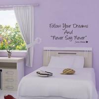Wholesale Wall Sayings For Bedroom - Buy Cheap Wall Sayings ...