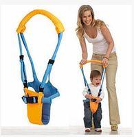 bebek yürüme koşum takımı toptan satış-Bebek Sapanlar kayış Yürüyor Walker kanatları Bebek Tasması Öğrenme Yürüyüşü Yardımcısı Çocuklar Kaleci Taşıyıcı C4667