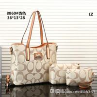 ingrosso sacchetti di tote di marca del progettista-2018 stili borsa famosa designer di marca moda borse in pelle donne tote borse a spalla borse in pelle da donna borse purse8860