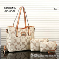 deri tasarımcısı markaları toptan satış-2018 stilleri Çanta Ünlü Tasarımcı Marka Adı Moda Deri Çanta Kadın Bez Omuz Çantaları Bayan Deri Çanta Çanta purse8860