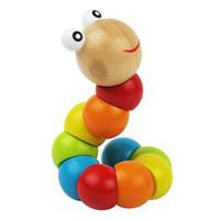 игрушки-гусеницы для детей оптовых-Моделирование Twisting Caterpillar Детские Развивающие Игрушки Деревянные Красочные Twisting Caterpillar Образовательные Детские Наука Скручивающий Червь Игрушка
