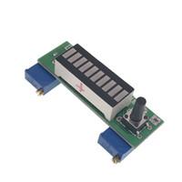 led ekran bölümü toptan satış-LM3914 Mavi 10 Segment 3.7 V Lityum 12 V Pil Kapasitesi Göstergesi Modülü Güç Seviyesi Tester LED Ekran Elektronik Diy Kitleri
