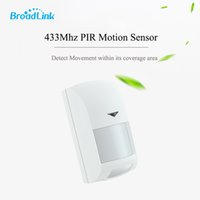 Wholesale Anti Theft System Home - Broadlink 433Mhz Wireless Intelligent Infrared PIR Motion Sensor Anti-theft for Smart Home Security S1C Alarm System