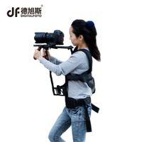 estabilizador de câmara video camcorder steadicam venda por atacado-DIGITALFOTO profissional câmera DSLR steadicam steadicam vídeo estabilizador camcorder estabilizador colete suporte ombro para a tomada de filme
