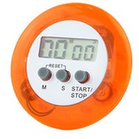 neuheit digitale küche timer großhandel-Neuheit Digital Küchentimer Küchenhelfer Mini Digital LCD Küche Countdown Clip Timer Alarm Kostenloser Versand