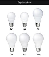 Wholesale 10PCS E27 LED Bulb Lamp V W W W W W W Globe A Spotlight SMD2835 for Home Lighting