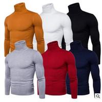 рубашка-свитер с водолазкой оптовых-2017 мужская зимняя водолазка свитер тонкий корейский твердые водолазка рубашка мужской утолщенной водолазка свитер прилив