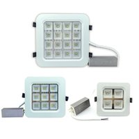 Wholesale glass panel light switch - CREE 4W 9W 16W 25W Led Ceiling Downlights 150Lumens W High Bright Warm Natural Cool White Led Recessed Panel Kitchen Lighting AC 110-240V