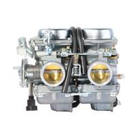 carburador chinês venda por atacado-PD26JS 26mm Carburador Para CB125 250 Cl125-3 Chinês Regat Raptor Twin Cilindro do motor CA250 CMX250 1996-2011