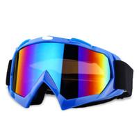 ingrosso occhiali da bicicletta-Camouflage Sci Snowboard Occhiali Moto Equitazione Occhiali Motocross Off-Road Dirt Bike Downhill Racing Occhiali Motore da esterno Ciclo di occhiali