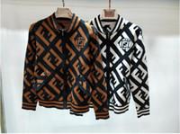 jaqueta de malha de malha longa venda por atacado-Malhas Outono Malha Femme Cardigan das Mulheres Design de Moda cardigan suéter Casual Jaqueta de Manga Longa De Malha Jerseys Mujer Blusas