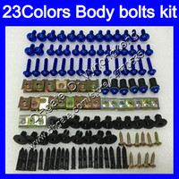 Wholesale 1198 fairings kit for sale - Fairing bolts full screw kit For DUCATI S S S Body Nuts screws nut bolt kit Colors