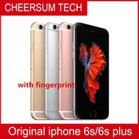 Wholesale Apple Iphone 2g - Original 4.7''5.5''Apple iPhone 6S Plus with Touch ID IOS 9 Dual Core 2G RAM 16GB 64GB 128GB ROM 12MP unlocked refurbished Cell Phones