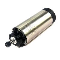 cnc spindelkühlung großhandel-CNC graviermaschine Luftgekühlte Spindel 800 Watt 1.5KW 2.2KW Spindelmotor Holz Fräsen router teil werkzeuge
