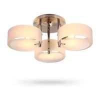акриловая столовая лампа оптовых-Современные потолочные светильники Освещение акриловые Светодиодные потолочные светильники блеск столовая лампа светильники