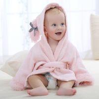 Wholesale Character Beach Towel Wholesale - NEW Design Cartoon Baby Towel Character Hooded Animal Baby Bathrobe Kids Bath Robe Infant Beach Towels BM0202