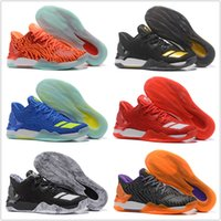 Wholesale basketball d rose - Wholesale MENS 2018 New Colors D Rose 7 Low Englewood Boost Men Basketball Shoes Derrick Oreo BHM Bruce 7s Casual Sports Sneakers