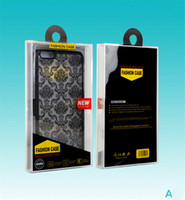 Wholesale retail box packaging cover resale online - Crystal Retail Plastic Package Packing Box Empty PVC boxes For Cell Phone Case Back Cover phone case package iPhone Plus X Samsung