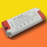 mevcut aydınlatma toptan satış-Genel Aydınlatma LED Sürücü 24-36W Çıkış DC62-126V Sabit Akım 300mA AC 100-240 Voltaj LED spot ışık paneli ışık 3 yıl garanti için
