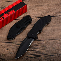 Wholesale stainless folding utility knife - Kershaw Clash Folding Knife 1605 With SpeedSafe Assisted Opening Stainless Steel Camping Utility Outdoor Gear Knife D747Q