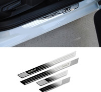 Car for VW Volkswagen Golf 7 MK7 2012-2017 Car-styling Stainless steel Door sill scuff plate Car accessories Stickers