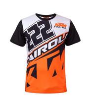 t-shirt orange de vélos achat en gros de-Leader of Sales Pro Team pour KTM Motocross MX Racing Vélo Vêtements Ropa Ciclismo DH Jersey VTT Vélo Mountain T-Shirt