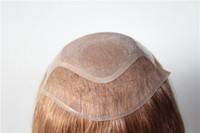 cheveux européens vierges de qualité achat en gros de-Perruques personnalisées pour femmes de haute qualité vierge européenne de cheveux humains personnalisé toupet pour femmes