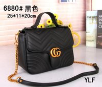 Wholesale leather casual shopping bag - AAAA+2018 New channels Brand Bag Women Gabrielle Composite Famous Designer C Shoulder Bag Leather Handbags Tote Womens K0 Shopping HOBO Bags