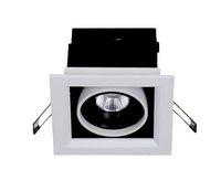 ingrosso luce quadrata del soffitto-Nuovo design! 5w 7W Square COB LED Plafoniera Lampada LED Faretto di luce a fagiolo 120 * 120, bianco neutro caldo freddo, spedizione gratuita