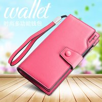 b2e258cb309e4 large yellow wallet Canada - Nadzieja Baellerry Fashion Women Long Wallets  Large Capacity Lady Card Holder