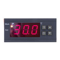 termostat dijital termometre toptan satış-Dijital termometre Sıcaklık Kontrol mini termostat termal regülatör Termokupl-50 ~ 110 Santigrat Derece ile Sensör