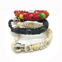 bracelets de narguilé achat en gros de-Poignet Original Narguilé Tabac Tuyau Bracelet Stealth Pipe Bracelet Perle Pipe à Fumer pour Tabac Discret Faufiler Un Toke Click n Vape