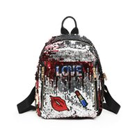 Wholesale shcool bags for sale - Group buy Hot Fashion Style Sequin Stars Small Girls Backpack Bling Design For Women Girls Shoulder Bags Travel Casual Shcool Bags New Arrival