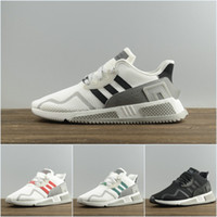 Wholesale flat netting - 2018 Adidas Originals EQT ADV Cushion outdoor Sport Running Shoes For men women Balck White BY9506 Net surface breathable Sneakers