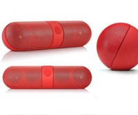 Wholesale wireless speaker bass - Pill XL Bluetooth Mini Speakers Protable Wireless Stereo Music Sound Box Audio Super Bass U Disk TF Slot With Handle Blue black red white