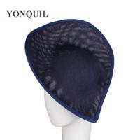 marine mädchen hüte großhandel-2018 arbeiten die Art und Weisefrauen, die Marinefascinatorhut beses 30 CM-Größe royal Derby headwear für Mädchenhemdanzeigen-Haarzusätze 5pcs / lot SYB05 umkleiden