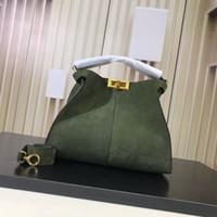 mulher esfrega venda por atacado-Bolsas de grife Esfregue as bolsas de grife de couro real bolsa das mulheres bolsa de luxo bolsa de moda bolsas de grande capacidade bolsa