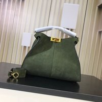 batas de mujer al por mayor-Bolsos de diseño Fregado de cuero real bolsos de diseño bolso de mujer bolso de lujo bolso de moda totes bolso de gran capacidad