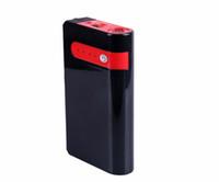 batterie intelligente 12v achat en gros de-Démarreur de saut de charge de batterie de voiture de banque d'alimentation de secours de PUSHIDUN 12V K24S avec le câble intelligent et le câble USB deux en un