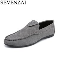 Discount italian casual fashion for men - fashion cheap men leather casual shoes italian folding driving loafers leisure leather boat shoes designer ballet flats for men