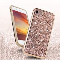 Wholesale diamond galaxy case - Premium Commuter Case Bling Diamond Glitter Cases Cover For iPhone X 8 7 6 Plus Samsung Galaxy S8 S9 Plus Opp Package