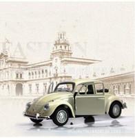 böcek model arabalar toptan satış-Klasik Arabalar Beetle Modeli Arabalar Alüminyum Alaşım Araba Modeli Çift Kapı Açık Arabalar Oyuncak Alaşım Geri Çekin Araba Modeli