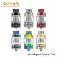 Wholesale normal bulbs for sale - Authentic Nikola Lapetus Subohm Tank with ml Normal Glass Tube ml Bulb Glass Tube Airflow Control System