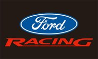 Wholesale ford automobiles - Ford Racing Flag 90 x 150 cm Polyester US Automobile Advertising Banner