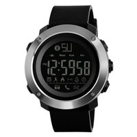 mode digitalkamera großhandel-Mode Männer Frauen Smart Uhr SKMEI Luxus Bluetooth Kamera Schrittzähler Sportuhren für Android IOS System Digital Armbanduhr