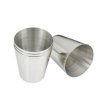 mini ventas de vino al por mayor-Venta caliente 1 unids 35 ml mini caja portátil de acero inoxidable frasco gafas especiales para beber vino bar taza de vino al aire libre